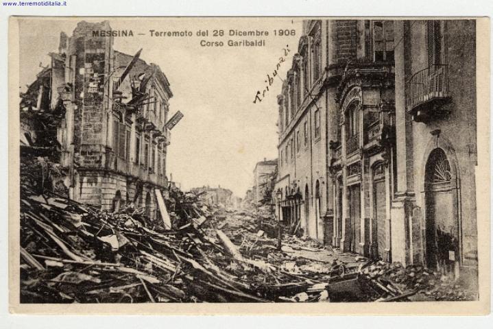 TERREMOTO DI MESSINA 1908