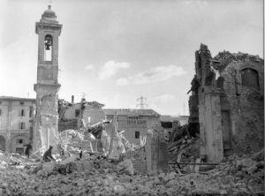 Gli effetti del terremoto del Belice.