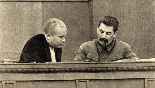 Kruscev e Stalin