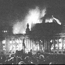 Incedio del Reichstag