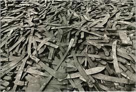 I machete, arma tristemente nota a causa del genocidio del Ruanda.