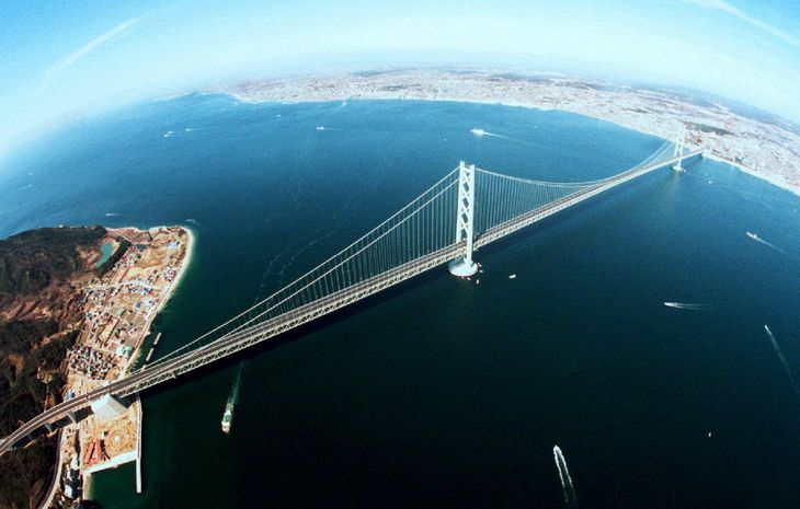 Il ponte Akashi-Kaikyo